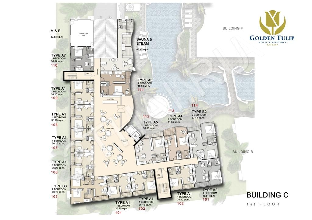 Golden Tulip Residence Buy New Condo In Pattaya