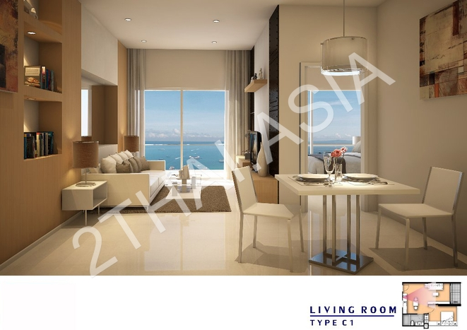 Amari Residences Pattaya, Pattaya, Pratumnak - photo, price, location map