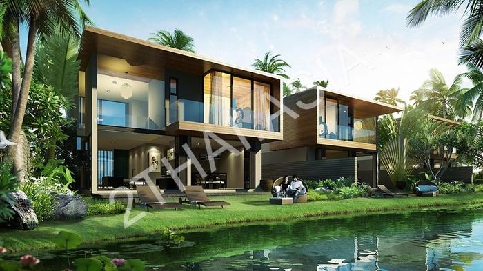 Green Cascade Villas Houses For Sale In Bang Saray