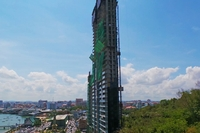 Waterfront Suits&Residences - photos of construction