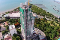 Amari Residences - aerial photos of construction