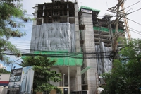 Construction of The Peak Towers, Pratumnak Hill, Pattaya