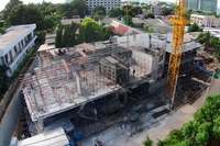 The Prim Grand Condo - construction update