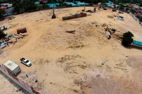 Savanna Sands Condo - photos of construction
