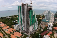 The Peak Towers - construction photos