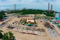 Venetian Condo Resort - construction site