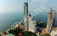 The Palm Wongamat - aerial photography