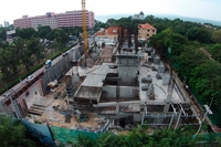 1 Tower Pratumnak - construction progress