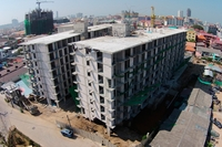 City Center Residence - construction photo review