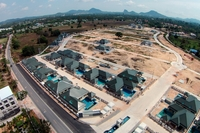 Baan Dusit Pattaya Hill - construction updates