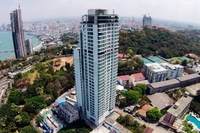 Amari Residences - aerial photography