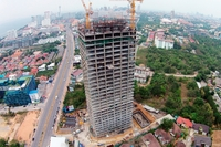 Dusit Grand Condo View - aerial photography