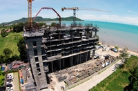 Del Mare Bang Sare - construction site