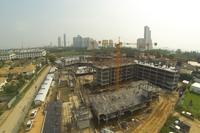 Seven Seas Jomtien - photos from construction site