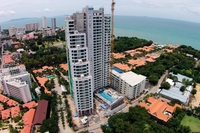 The Peak Towers - aerial photography