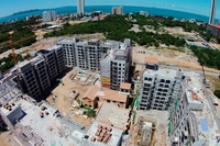 Venetian Condo Resort - aerial photography