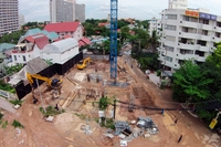 Skylight Condominium - construction site