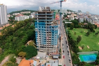 1 Tower Pratumnak - aerial photography