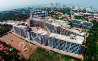 Dusit Grand Park Pattaya - aerial photography