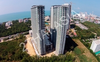 The Grand AD Jomtien Beach - aerial photography