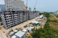 Trio Gems Condominium construction progress