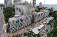 Trio Gems Condominium - construction photos