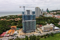 One Tower Pratamnak - construction update