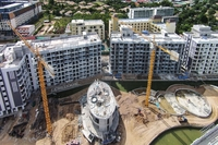 Photo from construction site of Dusit Grand Park Pattaya