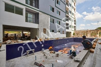 Trio Gems Condominium - photo from construction site