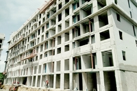 The Orient Jomtien construction