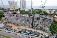 The Riviera Jomtien - construction review