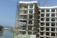 Whale Marina Condo - construction progress