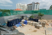 Sea Saran Condo construction progress