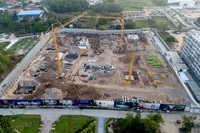 Grand Florida Condo Resort - construction progress