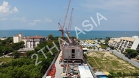 Copacabana Beach Jomtien - photos from construction site
