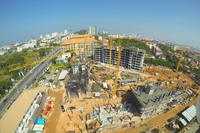 Grande Caribbean - photos of construction site