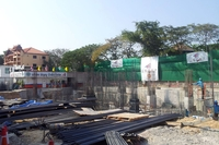 1 Tower Pratumnak - photos of construction site