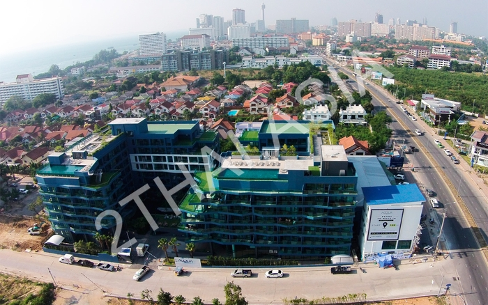 Acqua Condominium, Pattaya, Jomtien - photo, price, location map