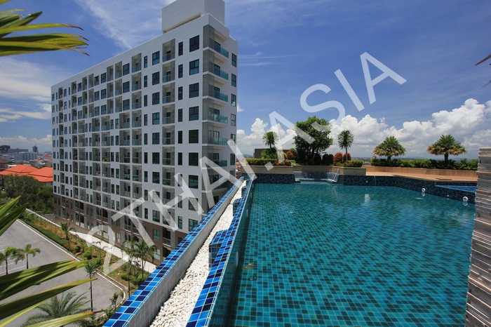 The Axis Pattaya, Pattaya, Pratumnak - photo, price, location map