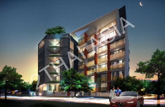 Skylight Condominium, Pattaya, Jomtien - photo, price, location map