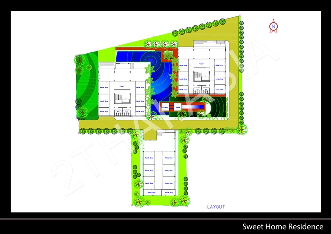 Sweet Home Residence, Pattaya, Jomtien - photo, price, location map